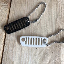 Sleutelhanger Jeep grill